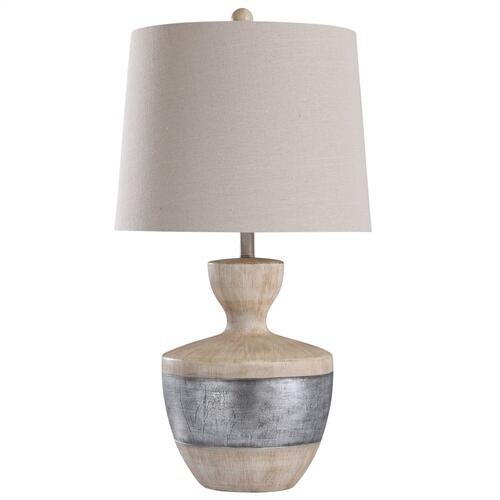 L317807  Haverhill  31in Cast Body Table Lamp  150 Watts  3-Way
