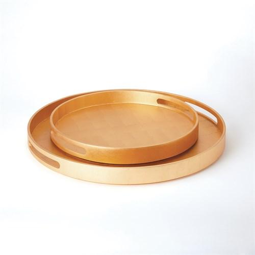 Nouveau Luxe Tray-Gold Leaf-Sm
