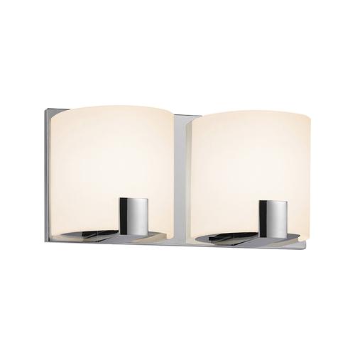 C-Shell LED 2-Light LED Bath Bar