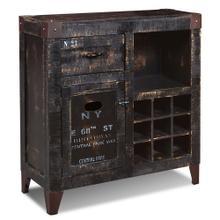 See Details - Graphic Wine Cabinet - 9 Bottle Storage