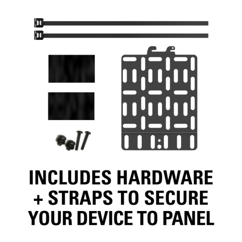 Streaming Device Panel for most small devices up to 3 lbs.
