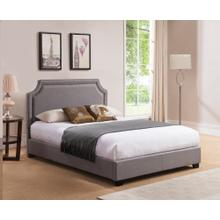 Brantford Platform Bed - Queen, Grey