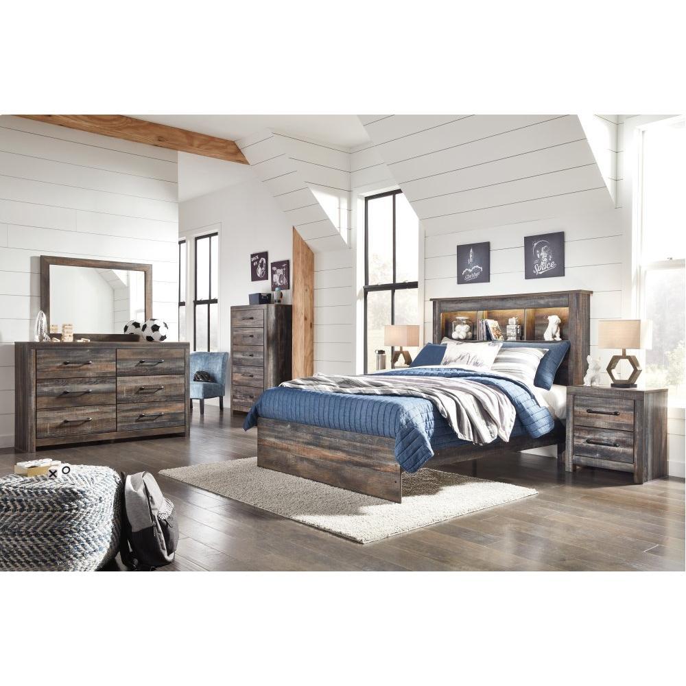 Drystan Full Bookcase Bed