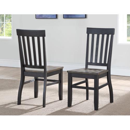 Raven Noir Side Chair