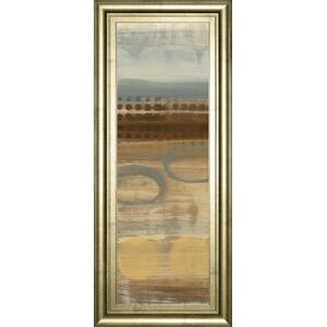 "Classy Art - ""Movement Panel I"" By Jeni Lee Framed Print Wall Art"