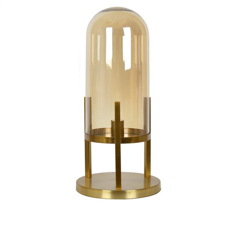 Large Malouf Done Lamp