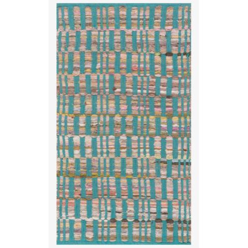 Hai01 Turquoise Rug