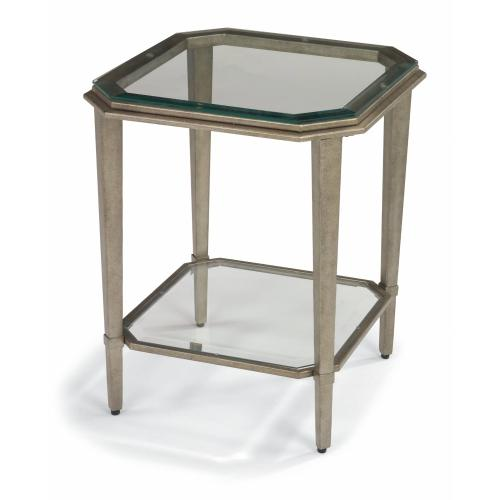 Flexsteel - Prism Chairside Table/Square Coffee Table-2 pc. Group-Floor Samples-**DISCONTINUED**