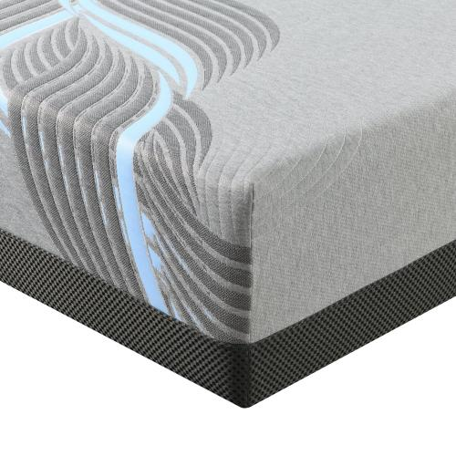 "Emerald Home Mattress Moonlight II 10"" Gel-memory Foam Queen 5/0 Es5210qm-01"