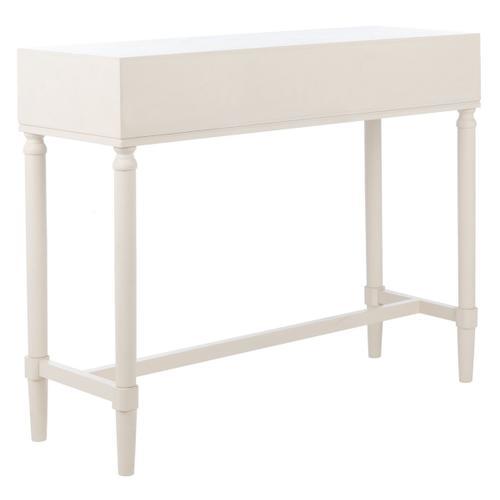 Safavieh - Estella 2 Drawer Console Table - White