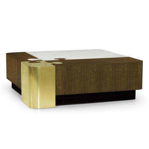 Fusion Marble Puzzle Cocktail Table