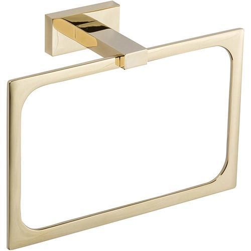Atlas Homewares - Axel Bath Towel Ring - French Gold