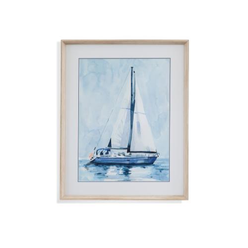 Bassett Mirror Company - Lone Sailboat II