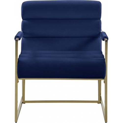 "Zayne Velvet Accent Chair - 26.5"" W x 28.5"" D x 32"" H"