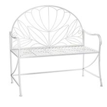 See Details - White Lotus Flower Bench