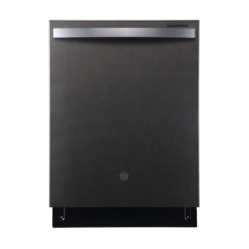 """GE 24"""" Built-In Top Control Dishwasher with Stainless Steel Tall Tub Slate - GBT640SMPES"""