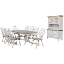 Product Image - Double Pedestal Extendable Dining Table Set - Country Grove (10 Piece)