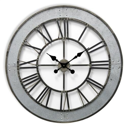 Style Craft - Metal Wall Clock  31in X31in X 2in