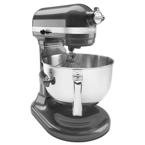 KitchenAid - Professional 600™ Series 6 Quart Bowl-Lift Stand Mixer - Pearl Metallic