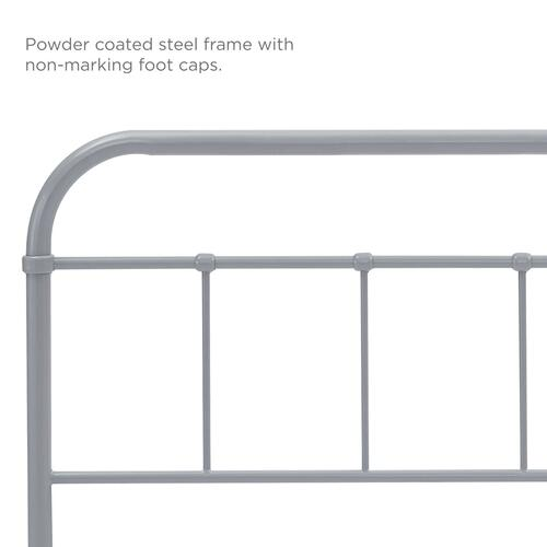 Modway - Serena Full Steel Headboard in Gray