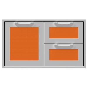 """36"""" Hestan Outdoor Combo Door/Drawer - AGSDR Series - Citra"""