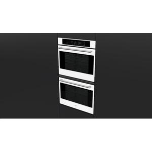 "Fulgor Milano30"" Touch Control Double Oven - White Glass"