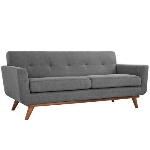 Engage Loveseat and Sofa Set of 2 in Expectation Gray