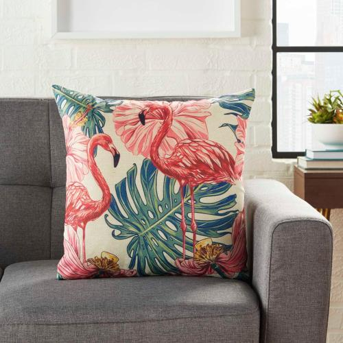"Trendy, Hip, New-age L9012 Multicolor 18"" X 18"" Throw Pillow"