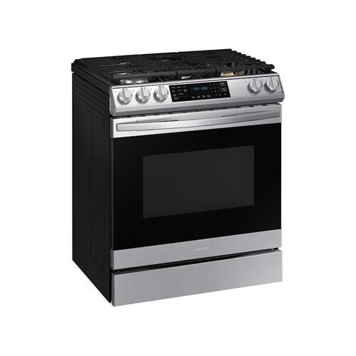 6.0 cu. ft. Smart Slide-in Gas Range with Air Fry in Stainless Steel