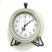 "6.25"" X 2"" X 8"" Green Table Top Clock"
