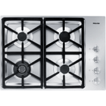 MieleKM 3464 G - Gas cooktop with a dual wok burner for particularly wide ranging burner capacity.