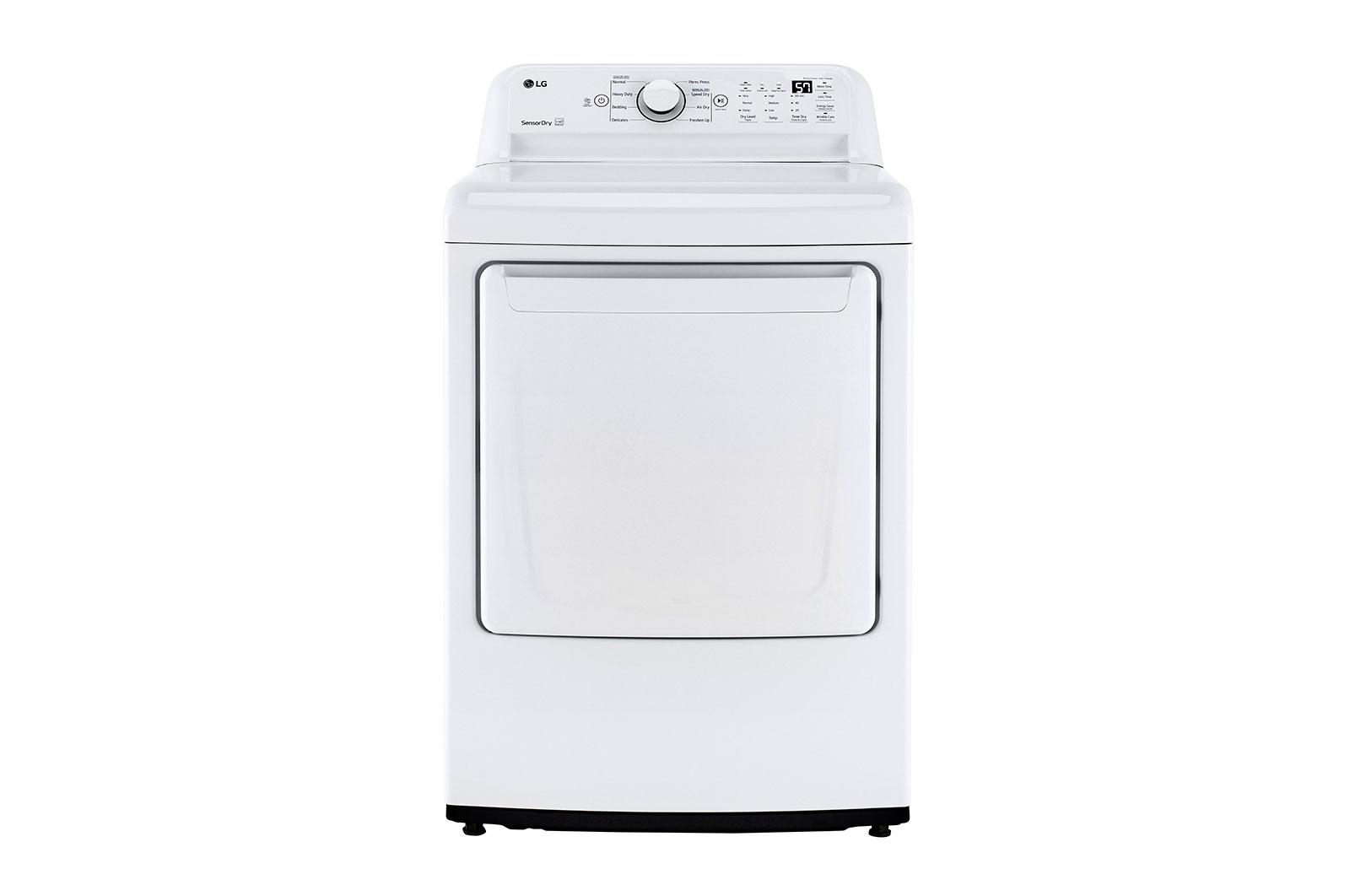 LG Appliances7.3 Cu. Ft. Ultra Large Capacity Top Load Gas Dryer With Sensor Dry Technology
