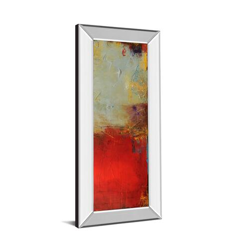 """Chicago St. Rush Il"" By Erin Ashley Mirror Framed Print Wall Art"