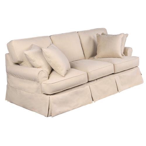 Sunset Trading - Horizon Slipcovered Sofa - Color 391084