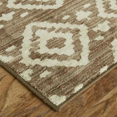 Mohawk - Tangier by Under the Canopy, Taupe- Rectangle