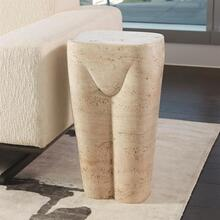 Femme Stool-Travertine