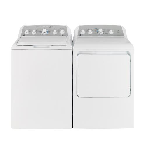 GE 4.9 Cu. Ft. Top Load Energy Star Electric Washer White - GTW485BMMWS