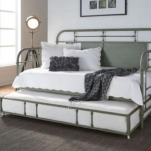 Liberty Furniture Industries - Twin Metal Trundle - Green