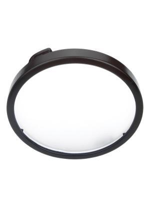 Xenon Disk Light Diffuser Trim Black Product Image