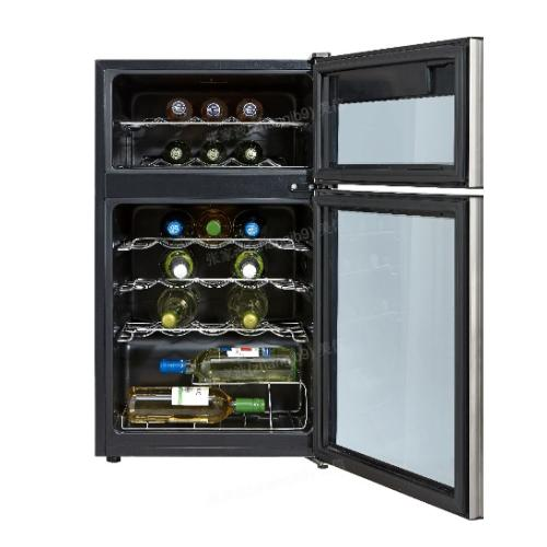 GE Profile 29 Wine Bottle Capacity Wine Chiller Stainless Steel - PXR03FLMFSC
