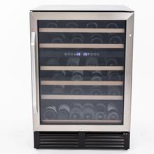 See Details - 49 Bottle Dual-Zone Wine Cooler