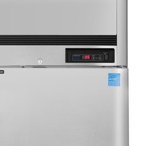 MCRT-49FD Reach-In Refrigerator, Double Door, Top Mount