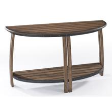 View Product - Demilune Sofa Table