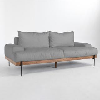 See Details - Faro Sofa Light Gray