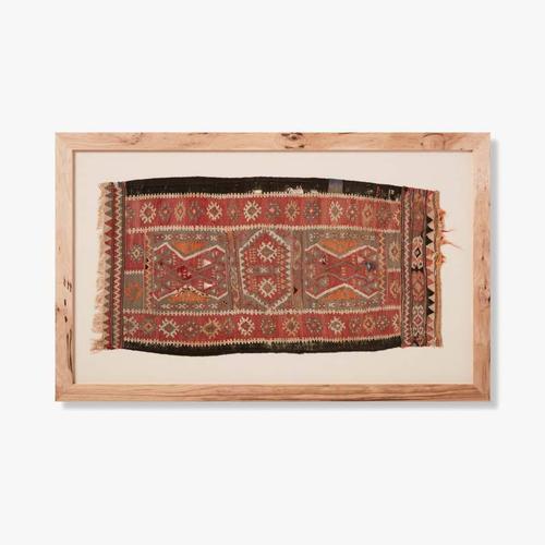 0320290004 Vintage Textile Wall Art