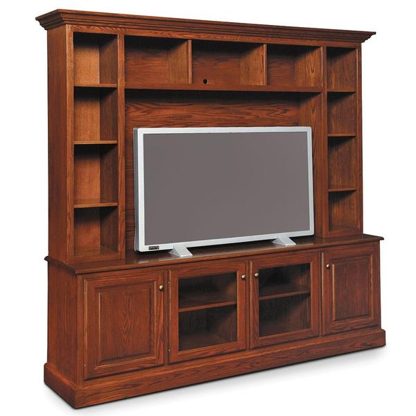 See Details - Classic Deluxe Entertainment Center, Base Only