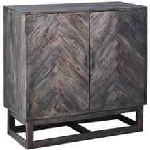 See Details - Herringbone Cabinet - Raftwood Brown