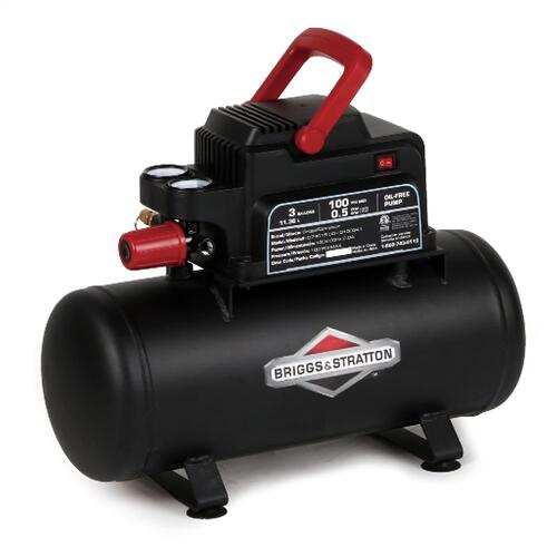 Briggs and Stratton - 3 Gallon Air Compressor - Lightweight and portable