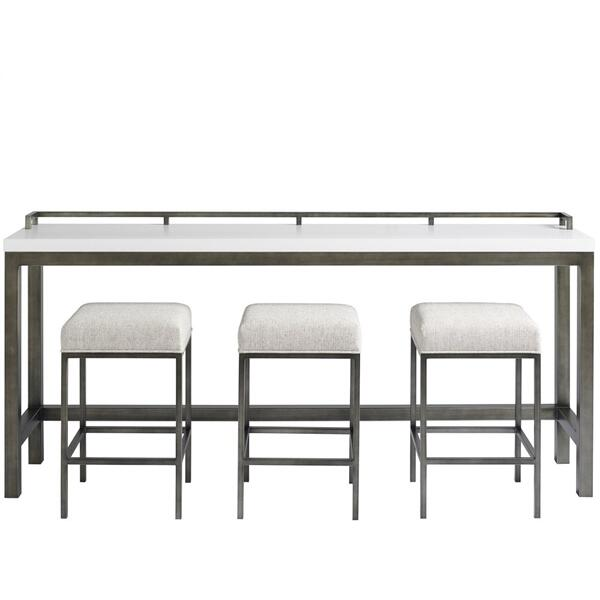 See Details - Essence Console Table with Stools