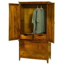 See Details - Jamestown Square Armoire